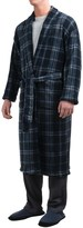 Majestic Plush Shawl Collar Robe - Long Sleeve (For Men)
