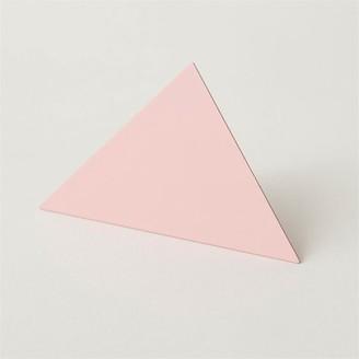 Block Design Geometric Photo Clip Triangle Pink