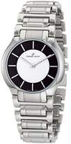 Pierre Petit Women's P-799E Serie Laval Black and Dial Stainless-Steel Bracelet Watch