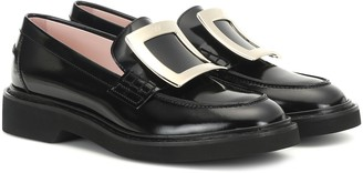 Roger Vivier Viv' Rangers patent-leather loafers