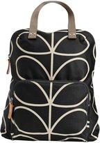 Orla Kiely Backpack Tote - Black & Cream