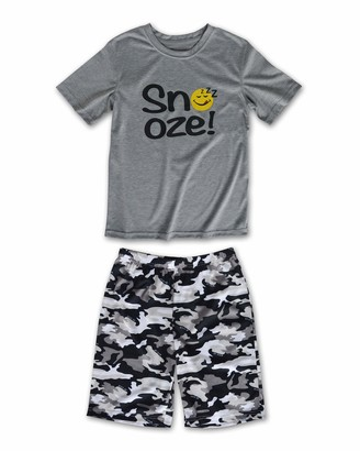 Joe Boxer Boys Camo Tee and Short Set