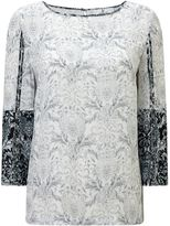Jacques Vert Tile Printed Boarder Top