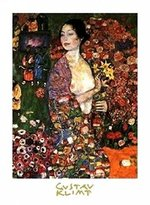 Gustav 1art1 Posters Klimt Poster Art Print - The Dancer, 1916 (12 x 9 inches)