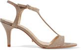 Schutz Florine glittered leather sandals