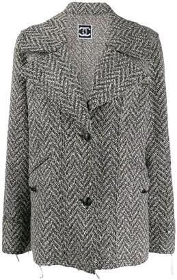 Chanel Pre Owned 2008's Herringbone Jacket