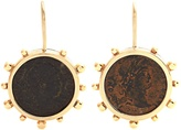 DUBINI Constantine bronze & yellow-gold earrings