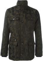 Eleventy camouflage field jacket