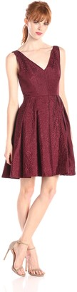 Erin Fetherston ERIN Women's Coco Jacquard Fit-and-Flare Dress