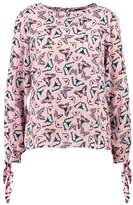 Dorothy Perkins BUTTERFLY Blouse peach