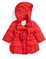 Kate Spade Infant Girl's Rosette Puffer Jacket