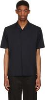 Kolor Navy Zip Shirt