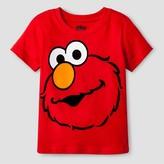 Sesame Street Toddler Boys' Seasame Street Elmo Big Face T-Shirt - Red