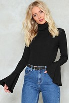 Nasty Gal Flare to Dream Turtleneck Sweater