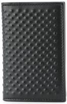 Alexander McQueen textured wallet