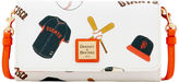 Dooney & Bourke MLB Giants Daphne Crossbody Wallet