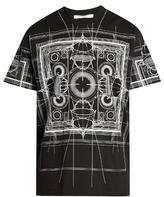 Givenchy Map-print Cotton-jersey T-shirt