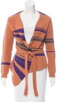 Dries Van Noten Wool Wrap Sweater