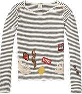 Scotch & Soda Badge T-Shirt   Long Sleeve