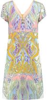 Emilio Pucci Printed Crepe Dress