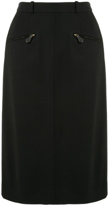 Hermes Knee-Length Pencil Skirt