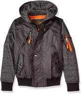Urban Republic Big Boys' Ur Poly Twill Jacket
