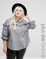 Alice & You Pie Crust Chambray Top