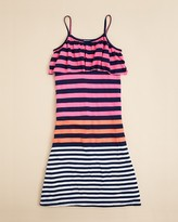 Flowers by Zoe Girls & #039; Neon Stripe Dress - Sizes S-XL