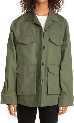 Totême Avignon Oversize Cotton Jacket