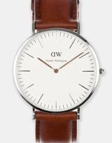 Daniel Wellington Classic St Mawes Silver 40mm