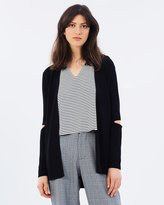 Mng Elbow Cardigan