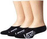Vans Classic Super No Show 3 Pair Pack