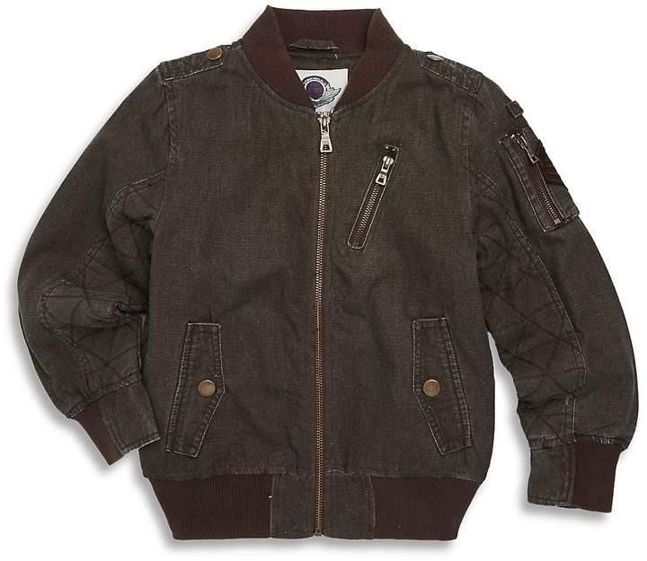 Urban Republic Little Boy's Woven Jacket - Olive, Size 5-6