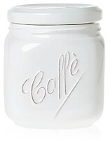 Vietri Lastra White Large Canister