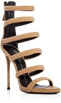 Giuseppe Zanotti Alien Multi Strap High Heel Sandals