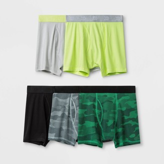 Boy' 5pk Printed Boxer Brief - All in MotionTM