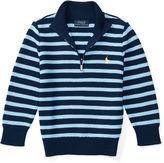 Ralph Lauren 2-7 Striped Cotton Sweater