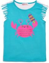 Design History Girls' Crab Top - Little Kid