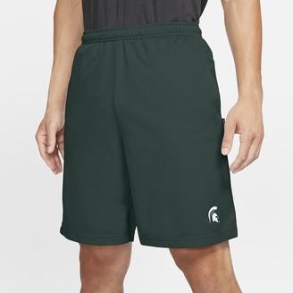 Nike Men's Shorts College Dri-FIT Coach (Michigan State)