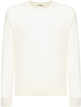 Jil Sander Fine Wool Crewneck Sweater