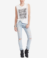Denim & Supply Ralph Lauren Sleeveless Graphic-Print Cotton T-Shirt