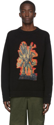 Acne Studios Black Monster in My Pocket Edition Great Beast Sweater