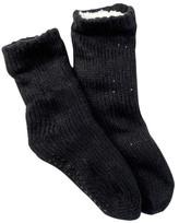 Capelli of New York Sequin Slipper Socks
