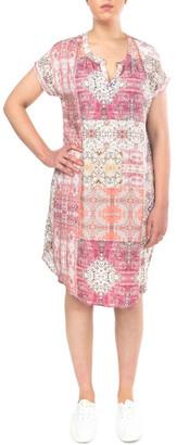Jump Mosaic Print Dress