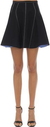 Thierry Mugler Bonded Jersey Mini Skirt