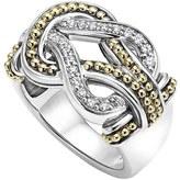 Lagos 'Newport' Diamond Knot Ring