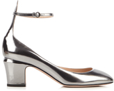 Valentino Tango block-heel leather pumps