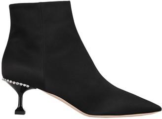Miu Miu Zip Up Boots
