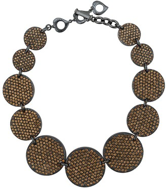 Yves Saint Laurent Pre Owned Glam Rive Gauche necklace
