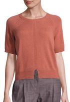 Peserico Virgin Wool, Silk & Cashmere Sweater